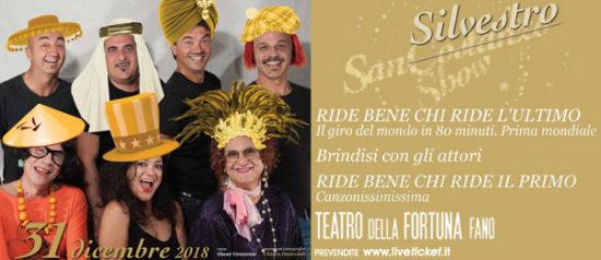 """San Costanzo Show """"Ride bene chi ride l'ultimo"""" al Teatro della Fortuna a Fano"""