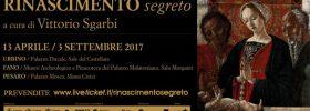 """""""Rinascimento segreto"""" mostra a Urbino Fano e Pesaro"""