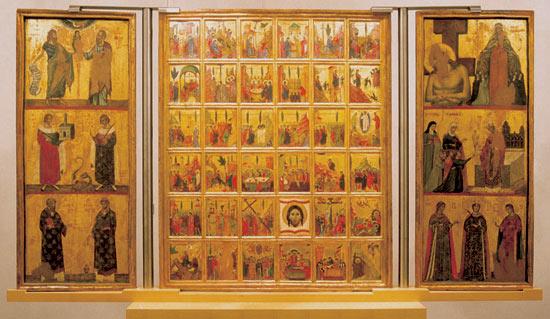 Trittico di Santa Chiara