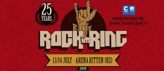 Rock im Ring 2018 Arena Ritten a Renon