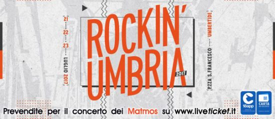 Rockin' Umbria 2017 in Piazza San Francesco a Umbertide