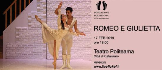 Romeo e Giulietta al Teatro Politeama di Catanzaro