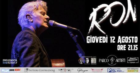 RON in concerto al Parco degli Artisti a Rimini