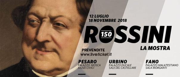 """""""Rossini 150"""" mostra a Urbino Fano e Pesaro"""