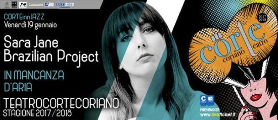 CorTeINNJazz - Sara Jane Brazilian Project al Teatro CorTe di Coriano