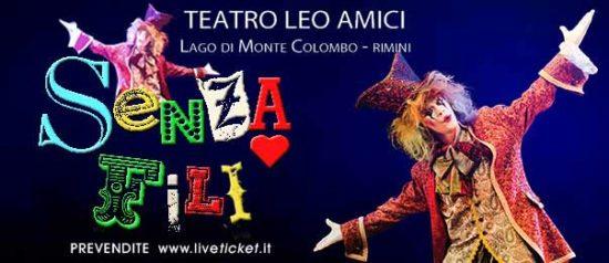 Senza fili al Teatro Leo Amici al Lago di Monte Colombo