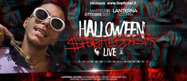 Sfera Ebbasta live - Halloween al Lanterna Azzurra di Corinaldo