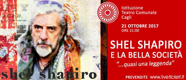 Shel Shapiro e La Bella Società al Teatro di Cagli