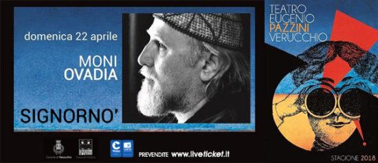 Moni Ovadia - Signornò al Teatro Pazzini di Verucchio
