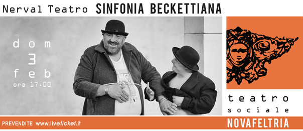 Sinfonia Beckettiana al Teatro Sociale di Novafeltria