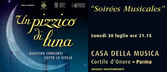 Soirées Musicales alla Casa della Musica a Parma