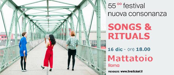 """Vivid Consort """"Songs & Rituals"""" al Mattattoio a Roma"""