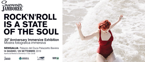 "Summer Jamboree 20th Anniversary Immersive exhibition ""Rock'n'Roll is a State of the Soul"" a Senigallia"