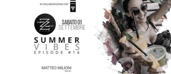 Summer Vibes Episode #14 al Zig zag Club di Porto Ercole