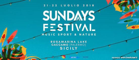 Sundays Festival al Rosamarina Lake a Caccamo