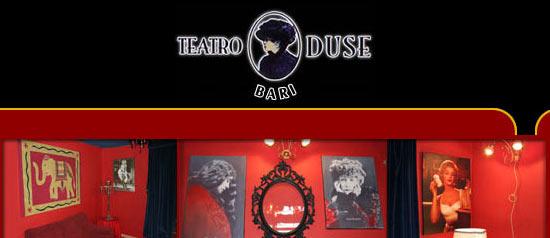 Ora tocca a me, Teatro Duse, Bari
