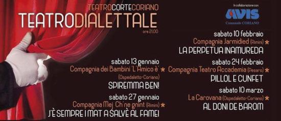 Teatro dialettale al Teatro CorTe di Coriano
