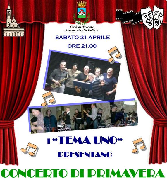 """Concerto di Primavera """"Tema Uno"""""""