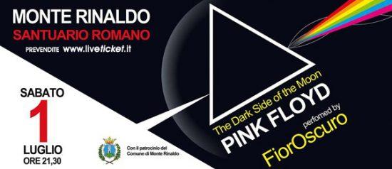 """""""The Dark Side of the Moon"""" FiorOscuro - Pink Floyd tribute al Santuario Romano di Monte Rinaldo"""