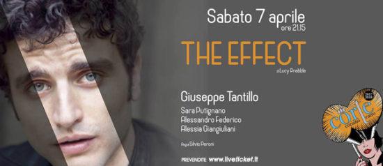 """Giuseppe Tantillo """"The Effect"""" al Teatro CorTe di Coriano"""