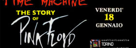 The story of Pink Floyd - Time Machine al Q77 di Torino
