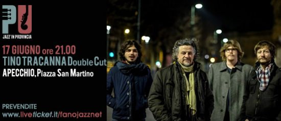 Jazz'in provincia Tino Tracanna – Double Cut in Piazza San Martino di Apecchio