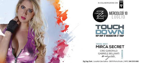 Touch Down al Zig zag Club di Porto Ercole