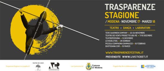 Trasparenze Stagione al Teatro dei Segni a Modena