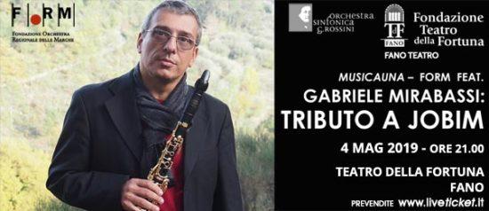Gabriele Mirabassi - Tributo a Jobim al Teatro della Fortuna a Fano