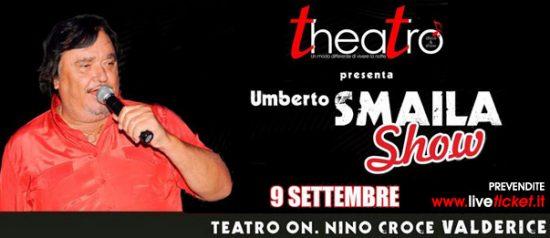 Umberto Smaila show al Teatro On. Nino Croce a Valderice