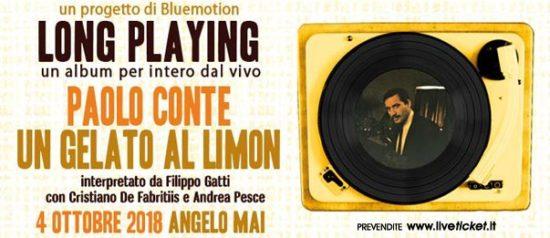 """LP concerto """"Un gelato al limon"""" all'Angelo Mai di Roma"""