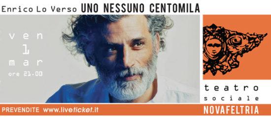 Uno nessuno centomila - Enrico Lo Verso al Teatro Sociale di Novafeltria