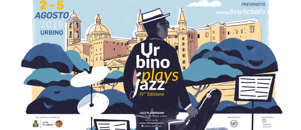 Urbino Plays Jazz Festival 2018 al Cortile Santa Chiara a Urbino