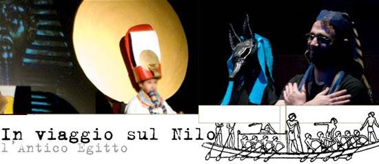 Viaggio sul Nilo, Centro Culturale il Trebbo, Milano