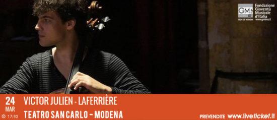 Victor Julien – Laferrière al Teatro San Carlo a Modena