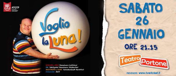 Voglio la luna al Teatro Portone di Senigallia