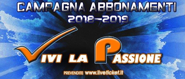 Volley Potentino – Campionato serie A2 stagione 2018/2019