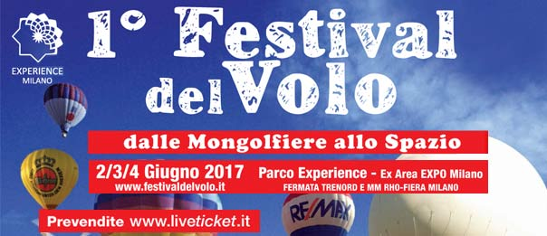 1° Festival del Volo al Parco Experience – ex area EXPO Milano