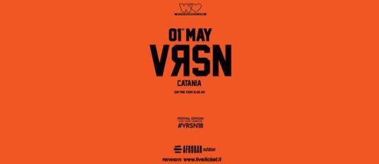 VRSN Festival Catania all'Afrobar di Catania
