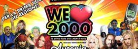 We love 2000 all'Ausonia Beach Club di Trieste