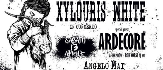 Xylouris White live - special guest Ardecore all'Angelo Mai di Roma