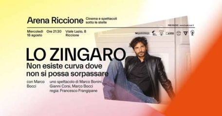 Lo Zingaro - Marco Bocci a Riccione
