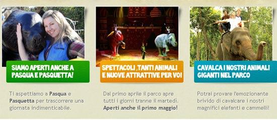 Spettacoli al Safari Park d'Abruzzo